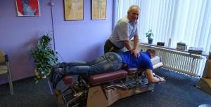 impressie behandeling chiropractor