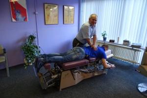 rug behandeling door chiropractor