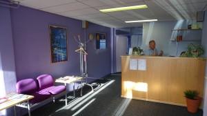 ontvangstruimte chiropractie praktijk enschede