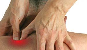 triggerpoint behandeling bij de chiropractor